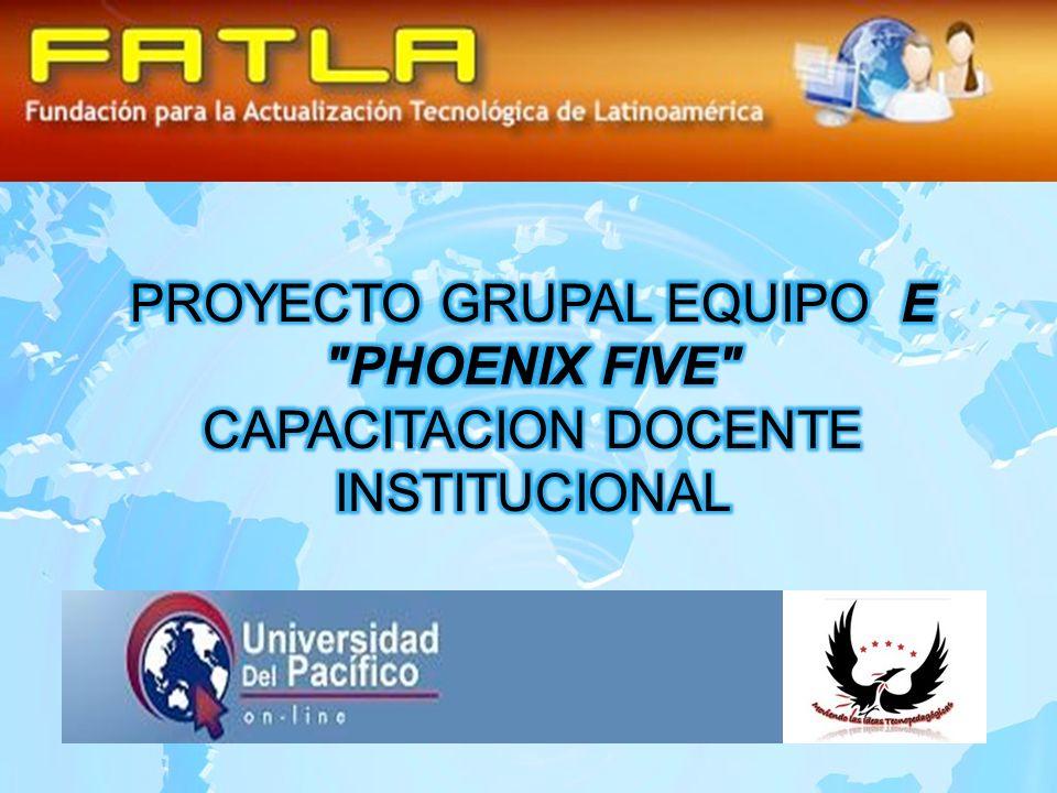 PROYECTO GRUPAL EQUIPO E PHOENIX FIVE