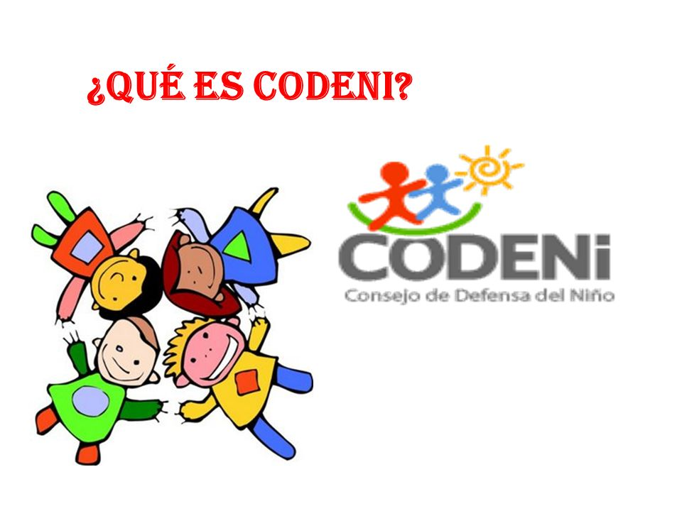 ¿Qué es CODENI