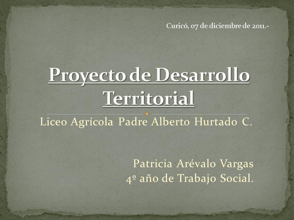 Proyecto de Desarrollo Territorial