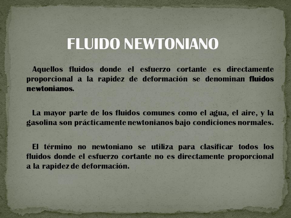 FLUIDO NEWTONIANO