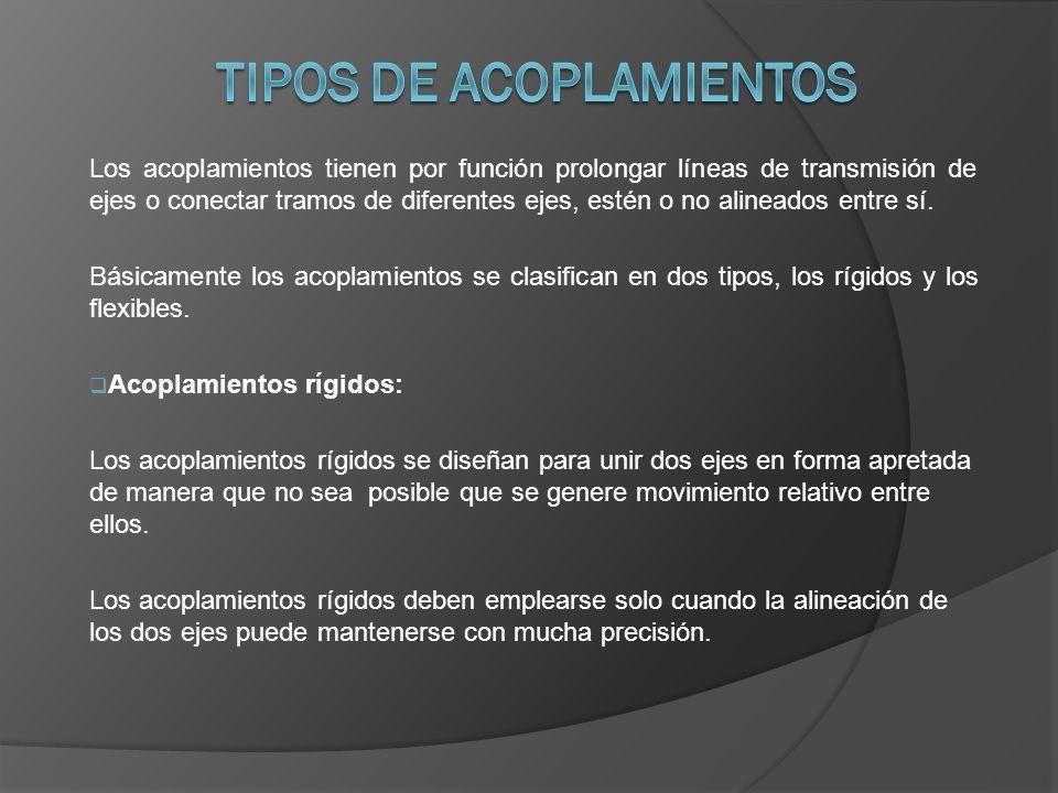 TIPOS DE ACOPLAMIENTOS