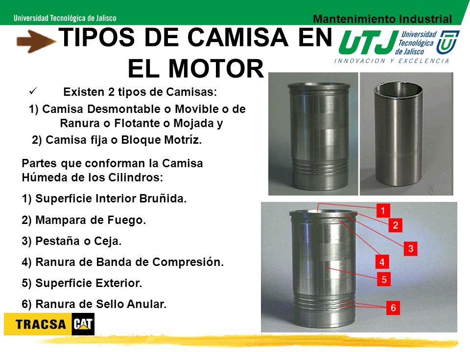 TIPOS DE CAMISA EN EL MOTOR
