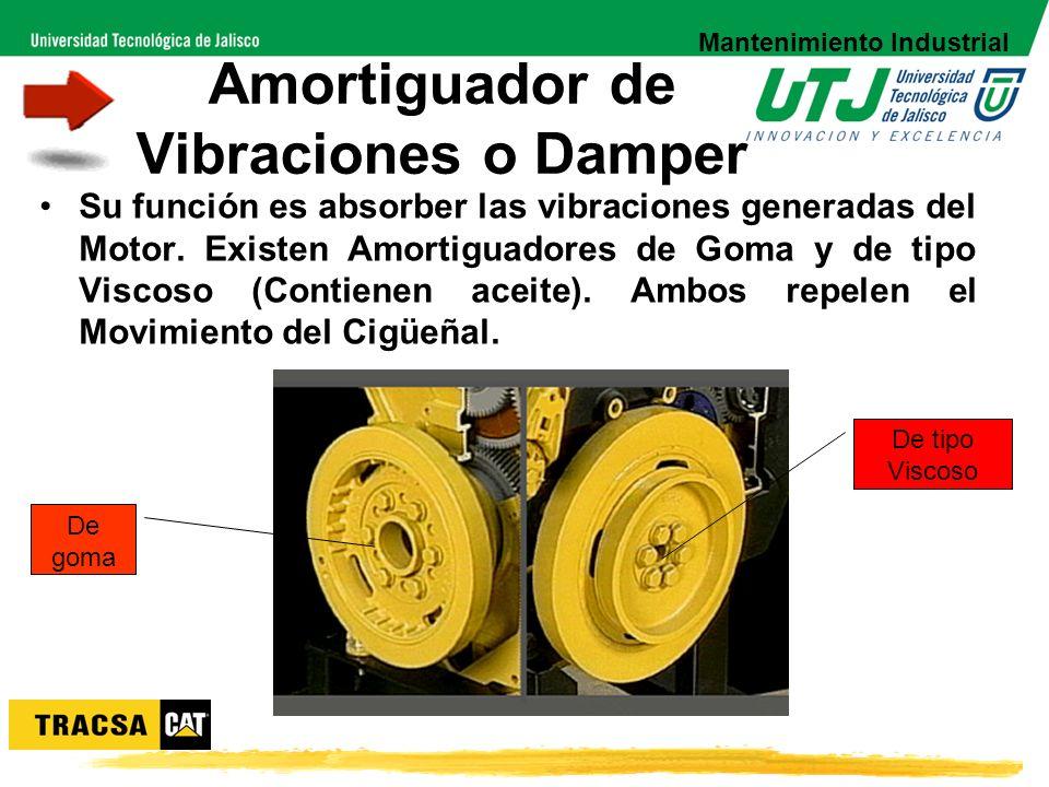 Amortiguador de Vibraciones o Damper
