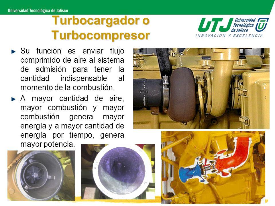 Turbocargador o Turbocompresor