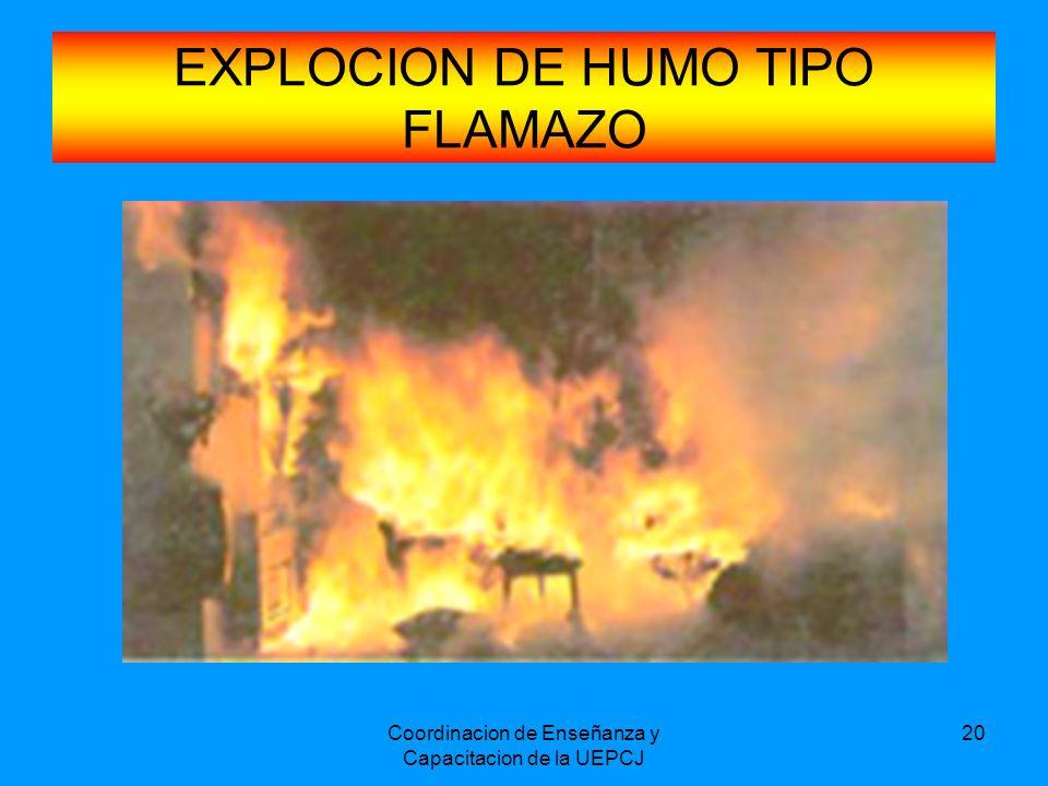 EXPLOCION DE HUMO TIPO FLAMAZO
