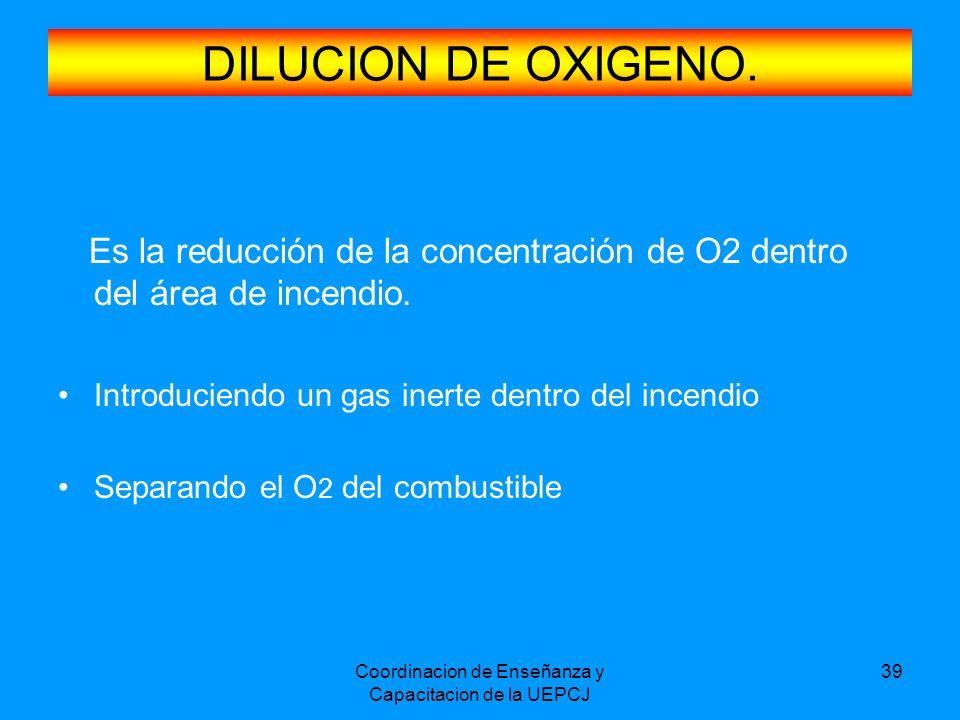 Coordinacion de Enseñanza y Capacitacion de la UEPCJ