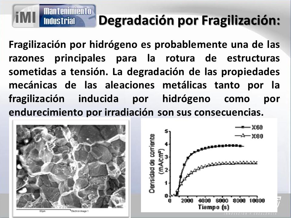 Degradación por Fragilización:
