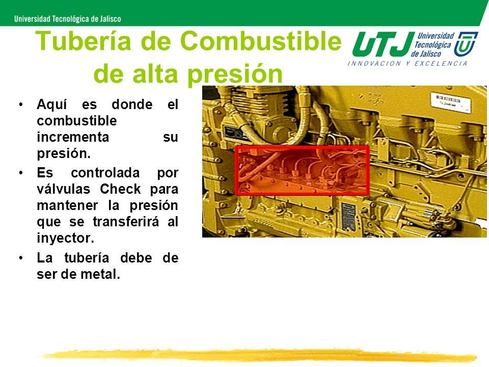 Tubería de Combustible de alta presión