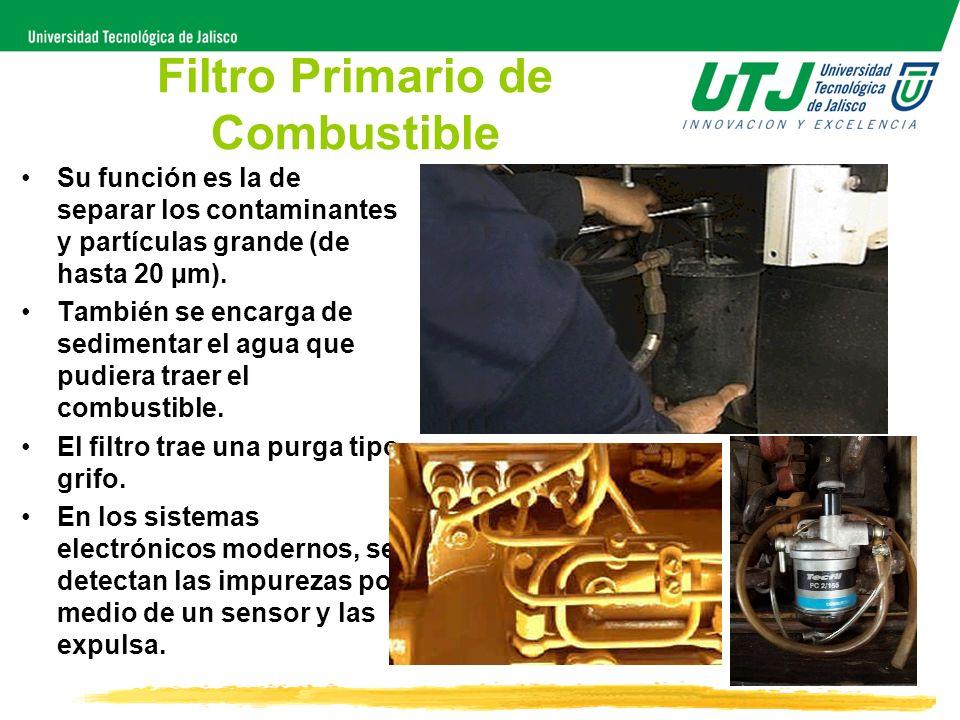 Filtro Primario de Combustible