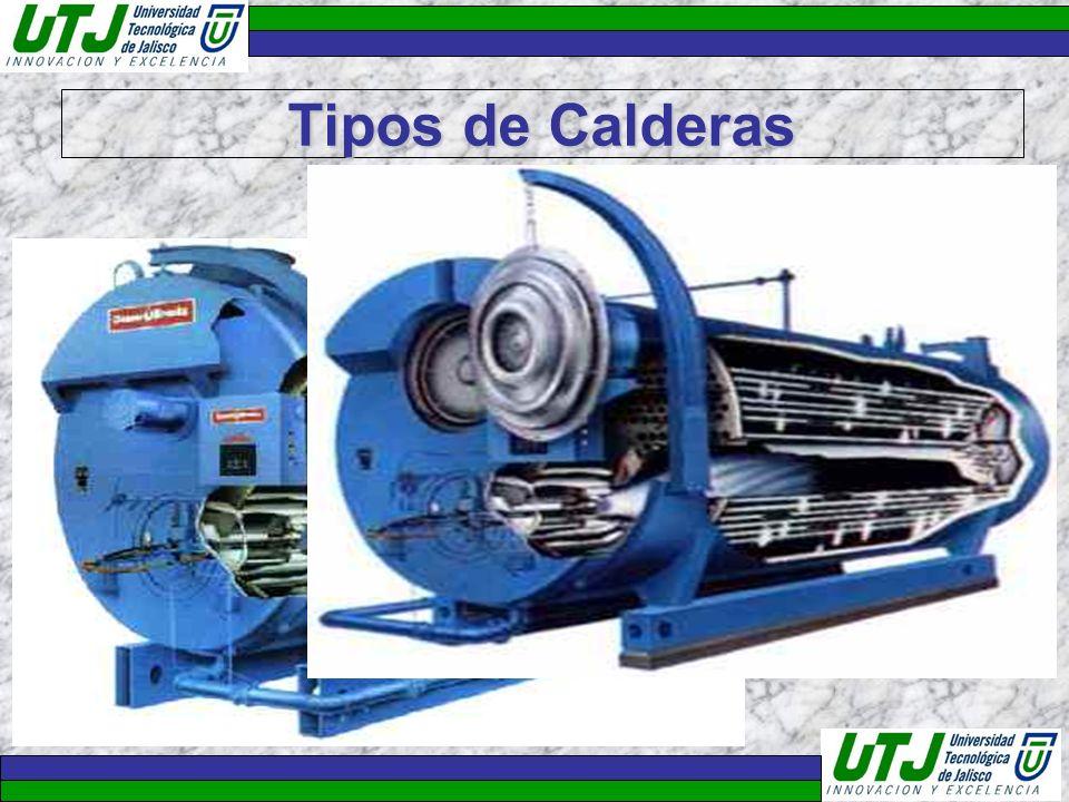 Tipos de Calderas