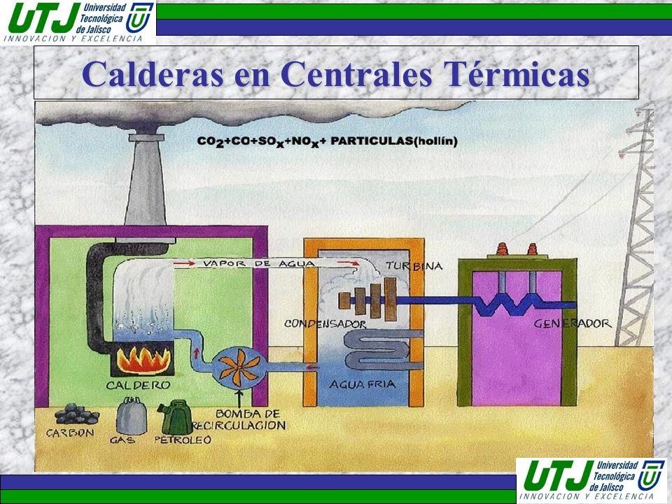 Calderas en Centrales Térmicas