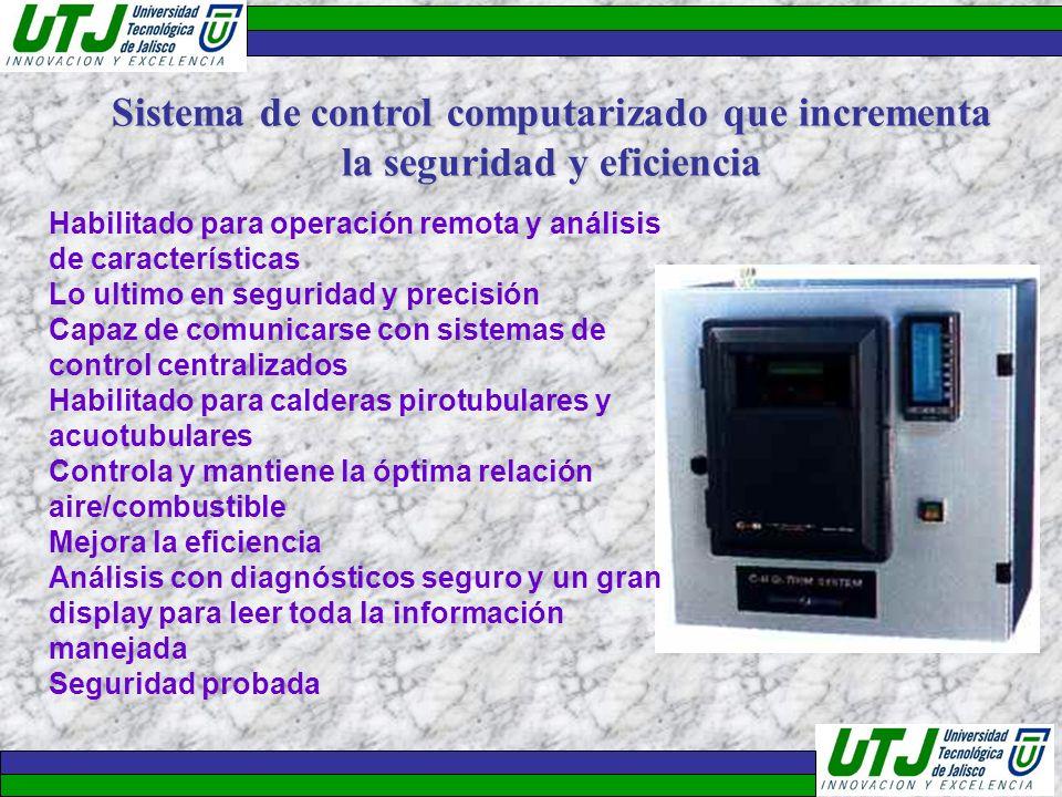 Sistema de control computarizado que incrementa la seguridad y eficiencia
