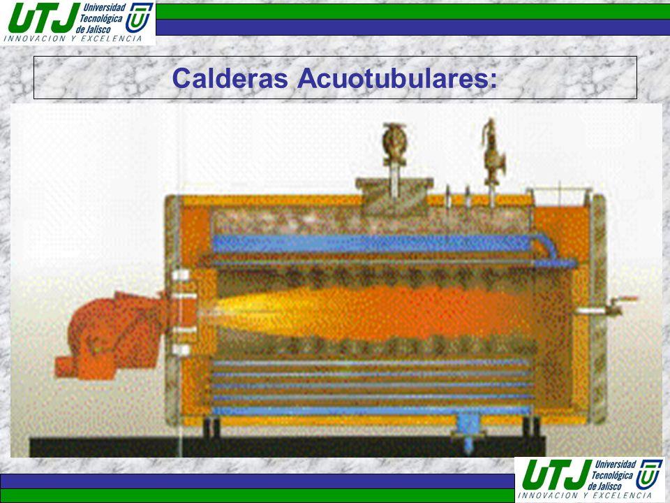Calderas Acuotubulares: