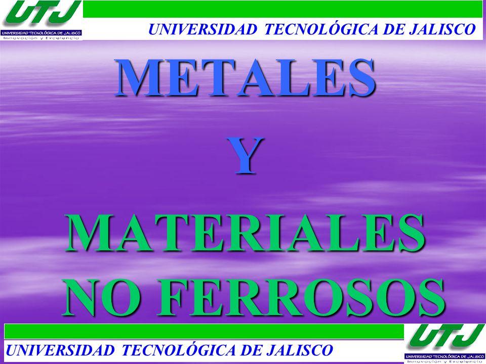 MATERIALES NO FERROSOS