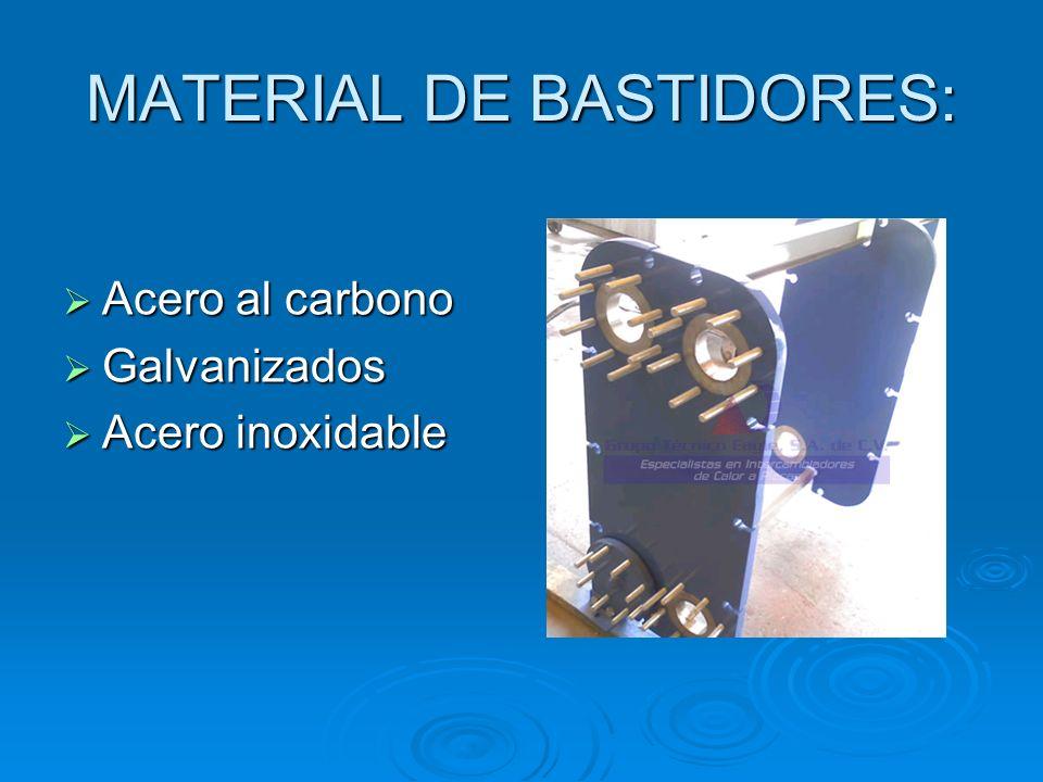 MATERIAL DE BASTIDORES: