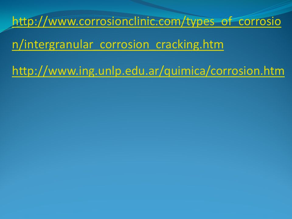 http://www. corrosionclinic