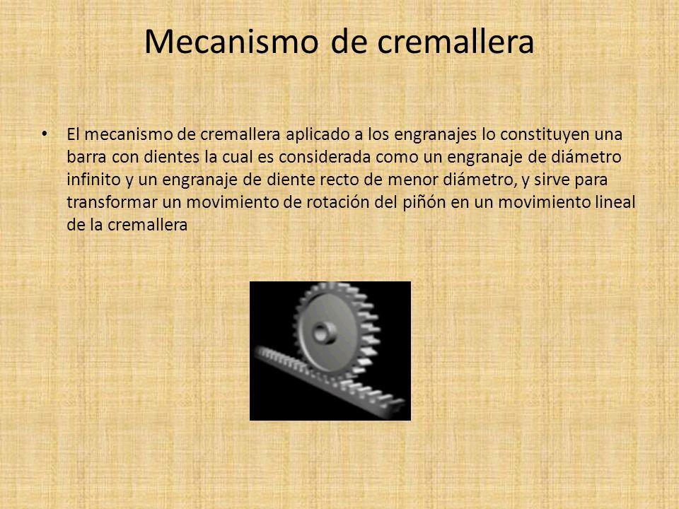 Mecanismo de cremallera