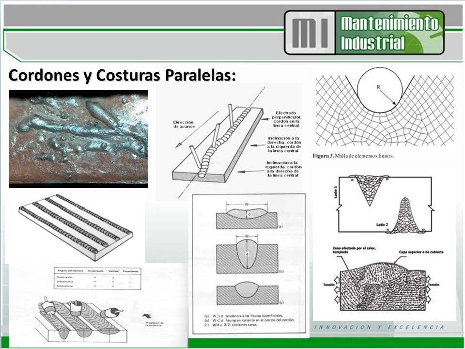 Cordones y Costuras Paralelas: