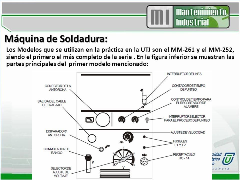 Máquina de Soldadura:
