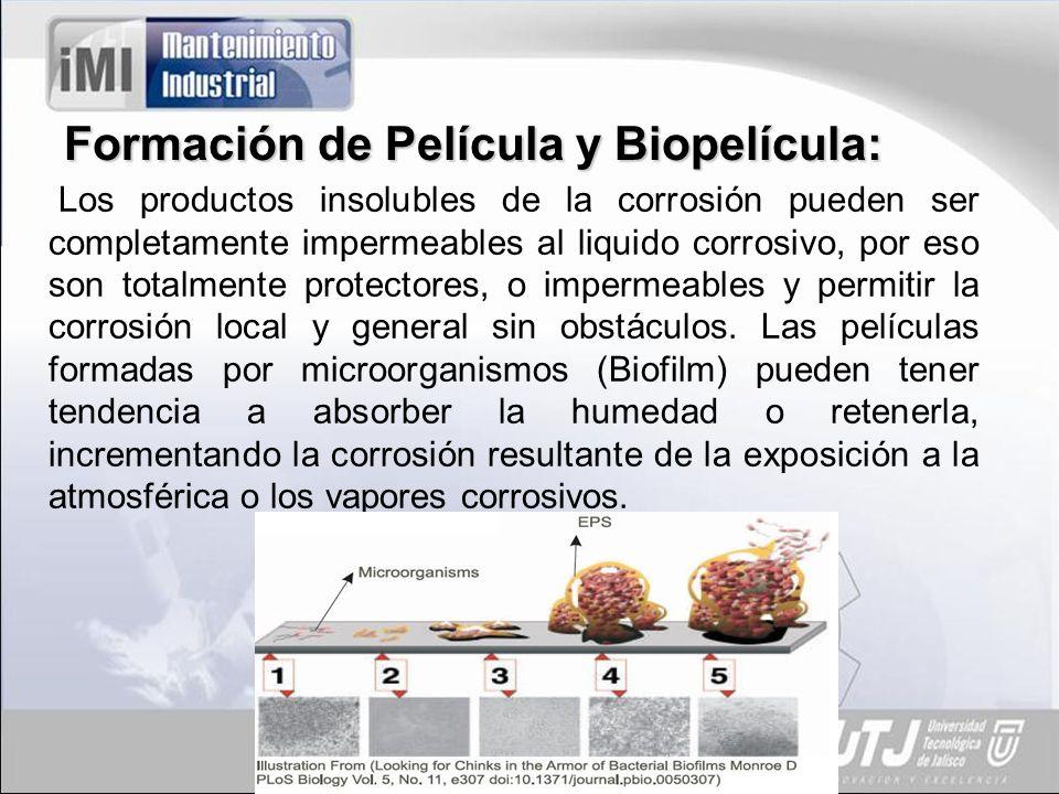 Formación de Película y Biopelícula: