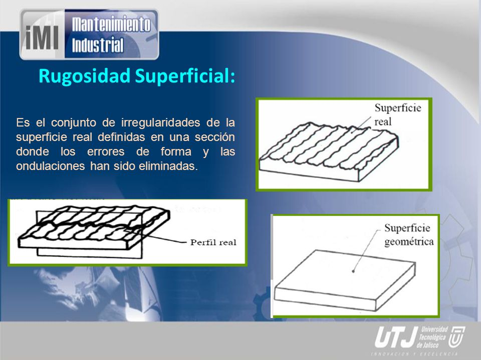 Rugosidad Superficial: