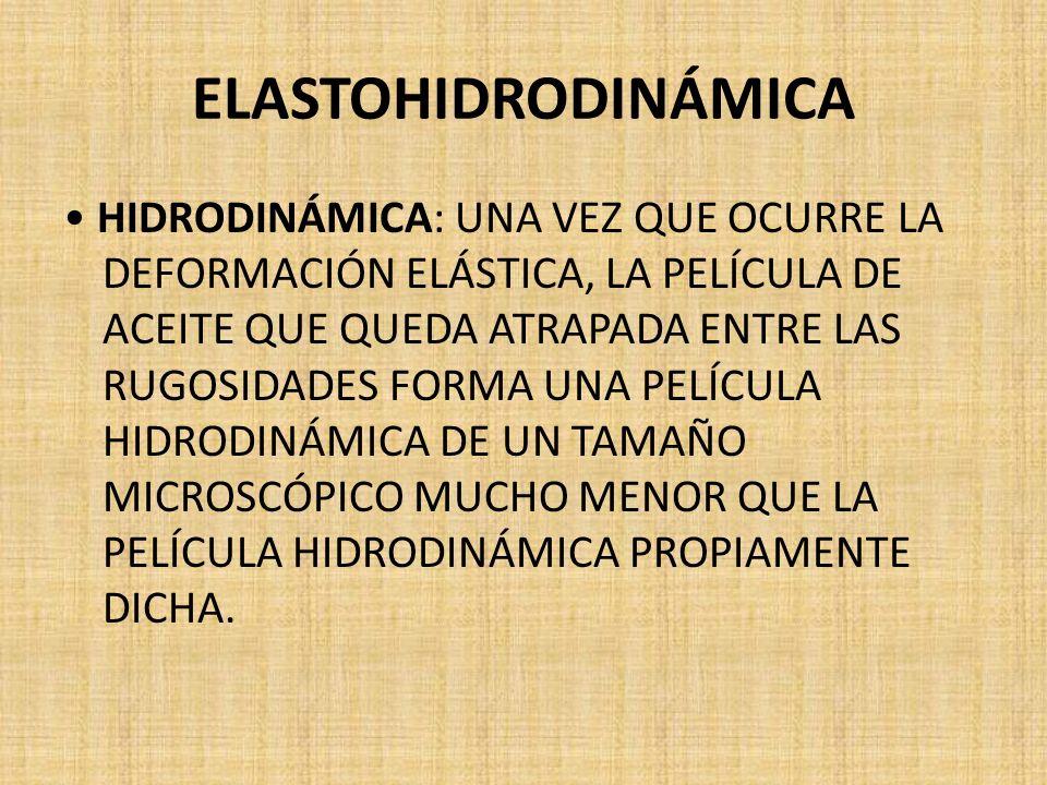 ELASTOHIDRODINÁMICA
