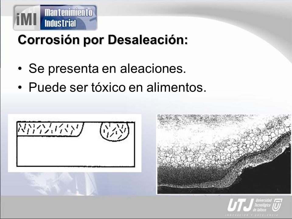 Corrosión por Desaleación:
