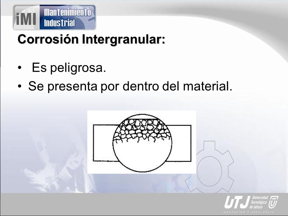 Corrosión Intergranular: