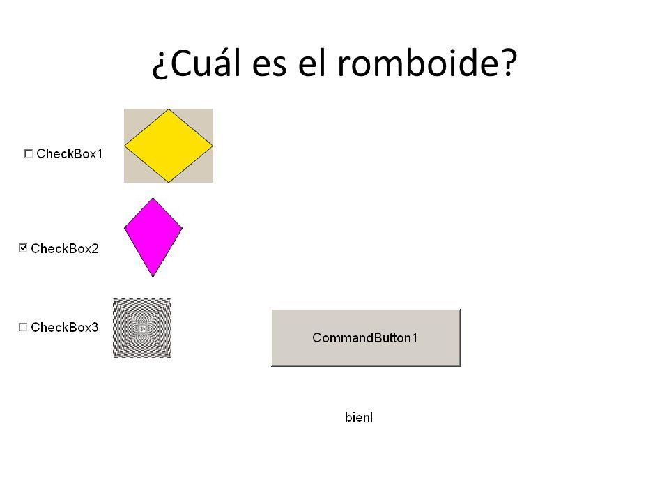 ¿Cuál es el romboide