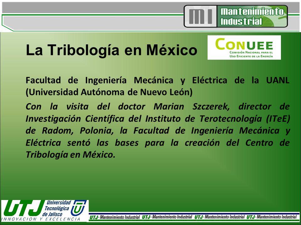 La Tribología en México