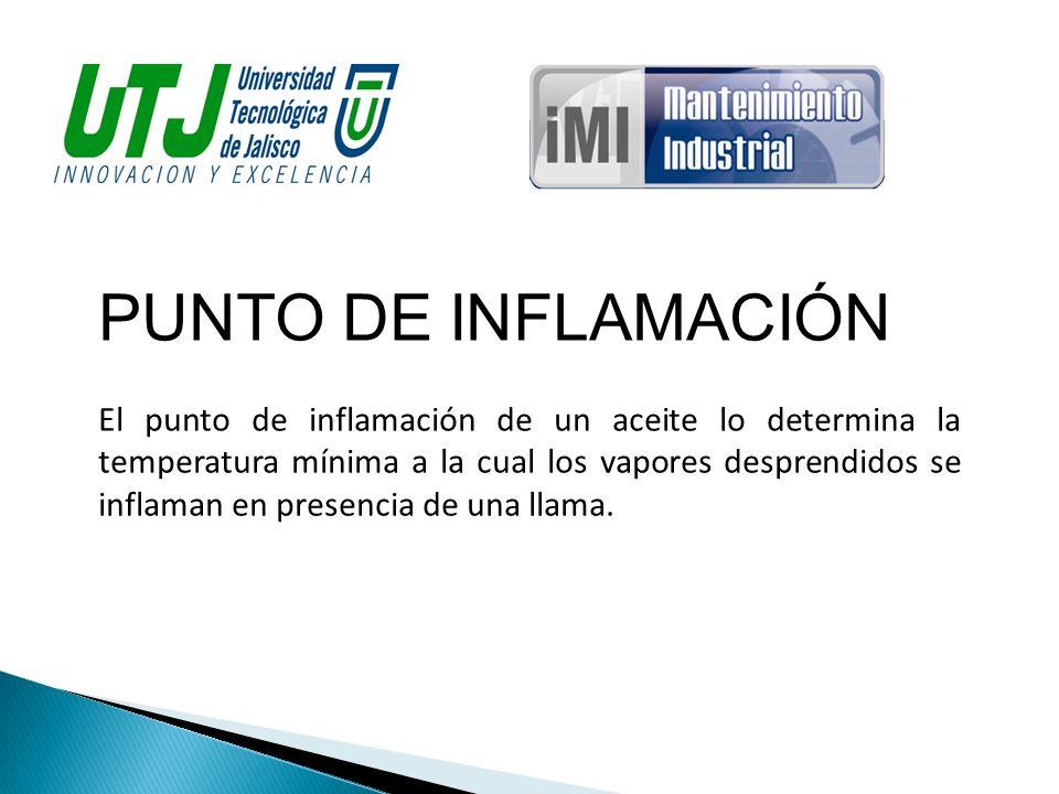 PUNTO DE INFLAMACIÓN