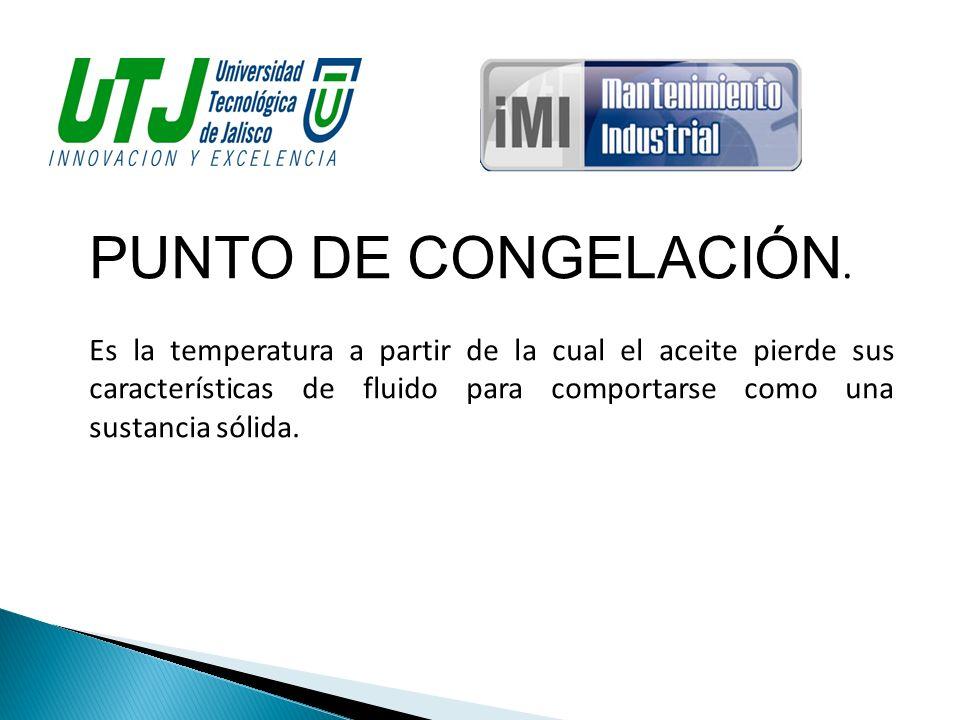PUNTO DE CONGELACIÓN.