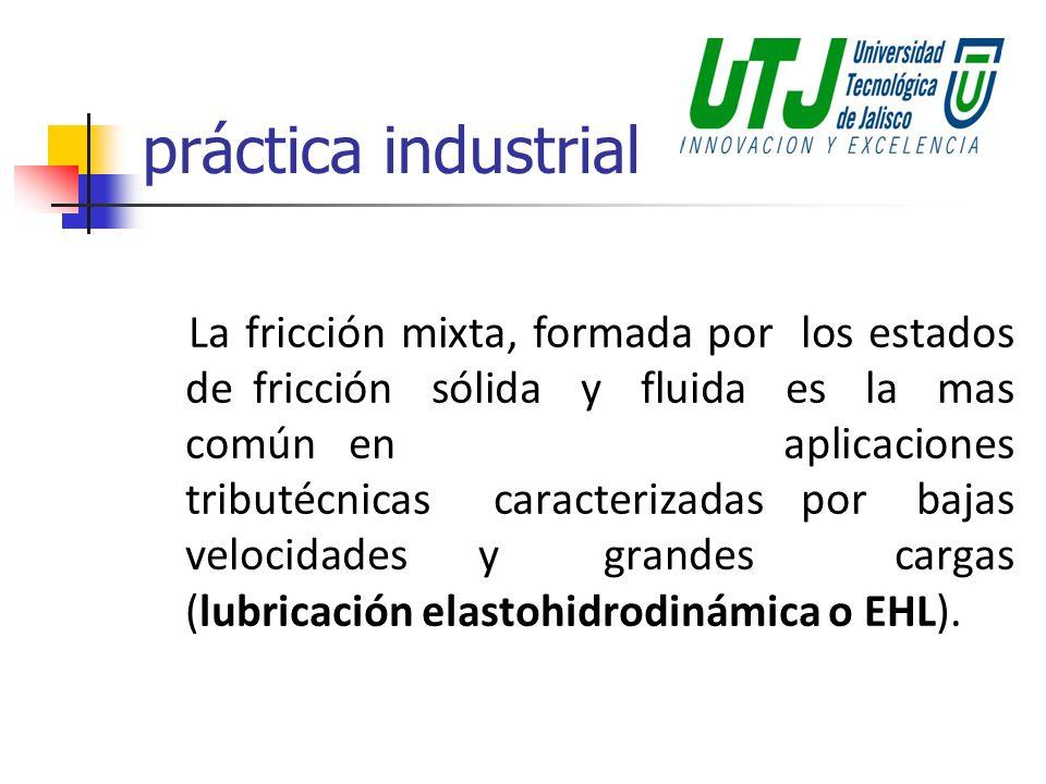 práctica industrial