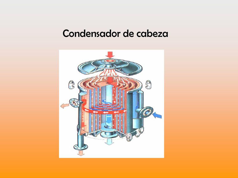 Condensador de cabeza