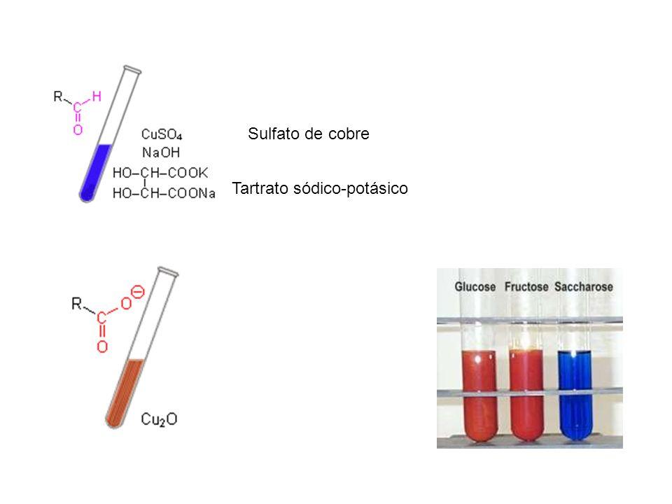 Sulfato de cobre Tartrato sódico-potásico