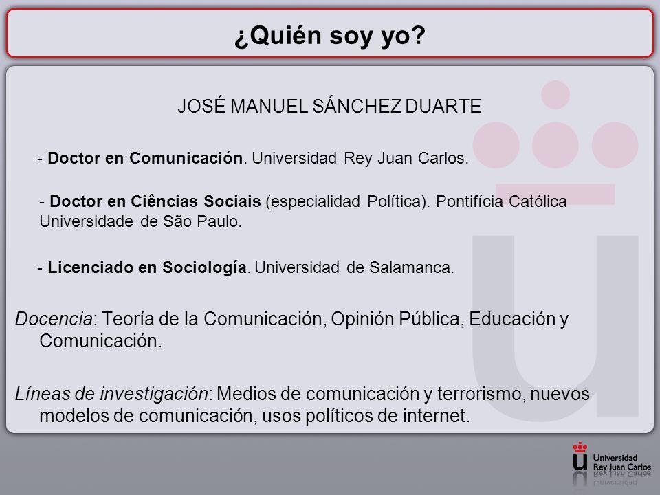 JOSÉ MANUEL SÁNCHEZ DUARTE