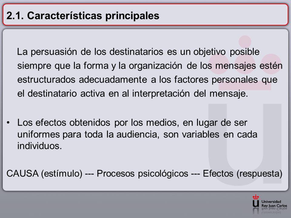 2.1. Características principales