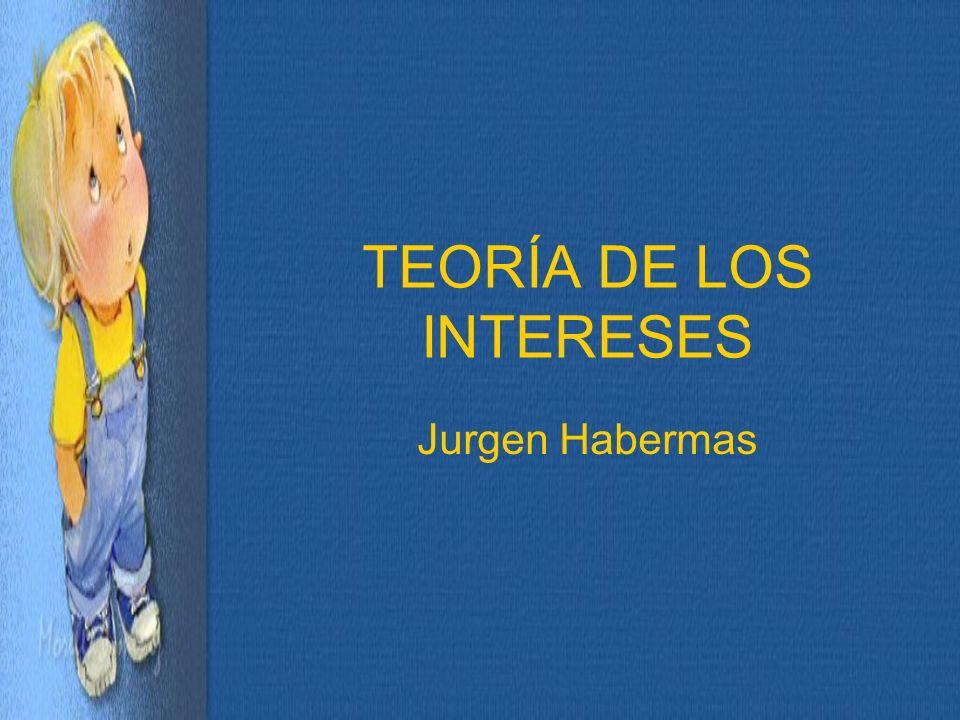 TEORÍA DE LOS INTERESES