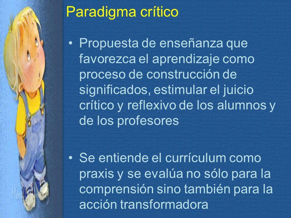 Paradigma crítico
