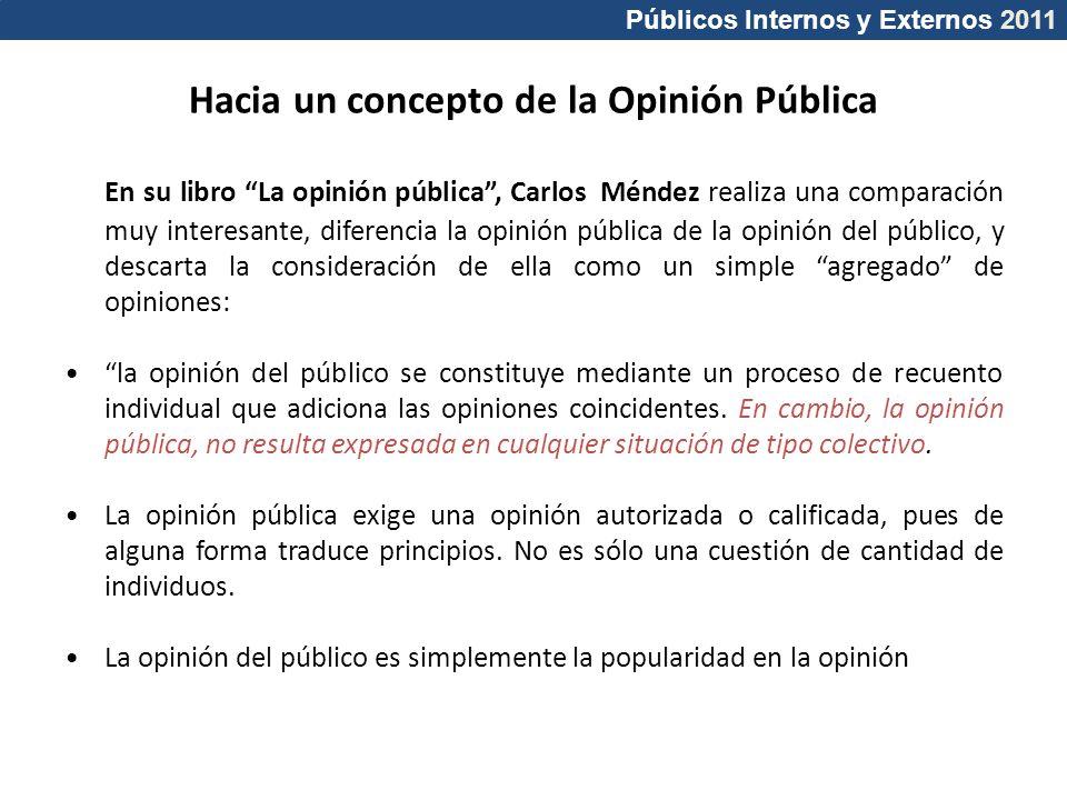 Hacia un concepto de la Opinión Pública