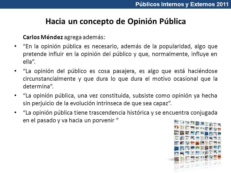 Hacia un concepto de Opinión Pública