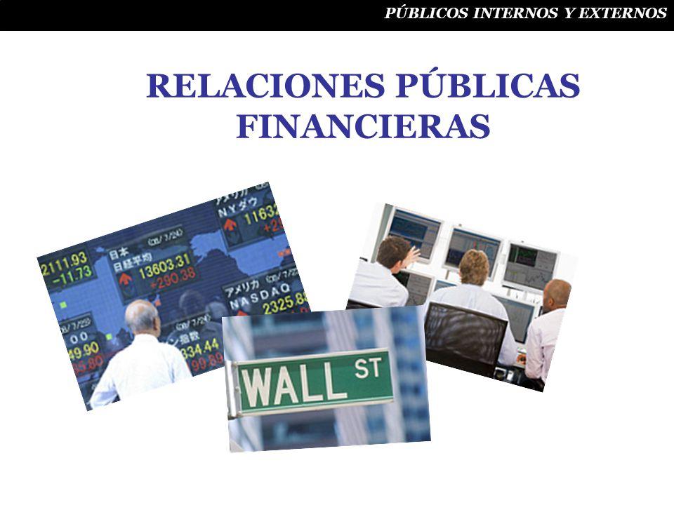 RELACIONES PÚBLICAS FINANCIERAS