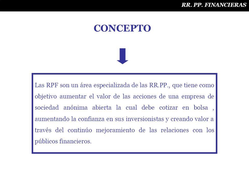 RR. PP. FINANCIERAS CONCEPTO.