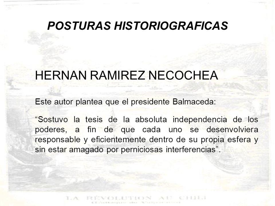 POSTURAS HISTORIOGRAFICAS