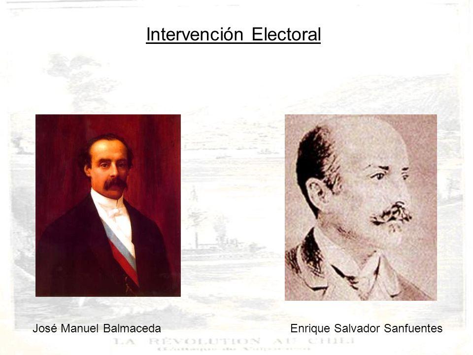 José Manuel Balmaceda Enrique Salvador Sanfuentes