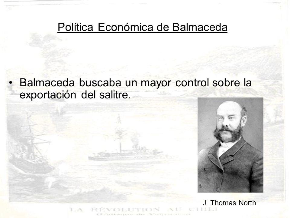 Política Económica de Balmaceda