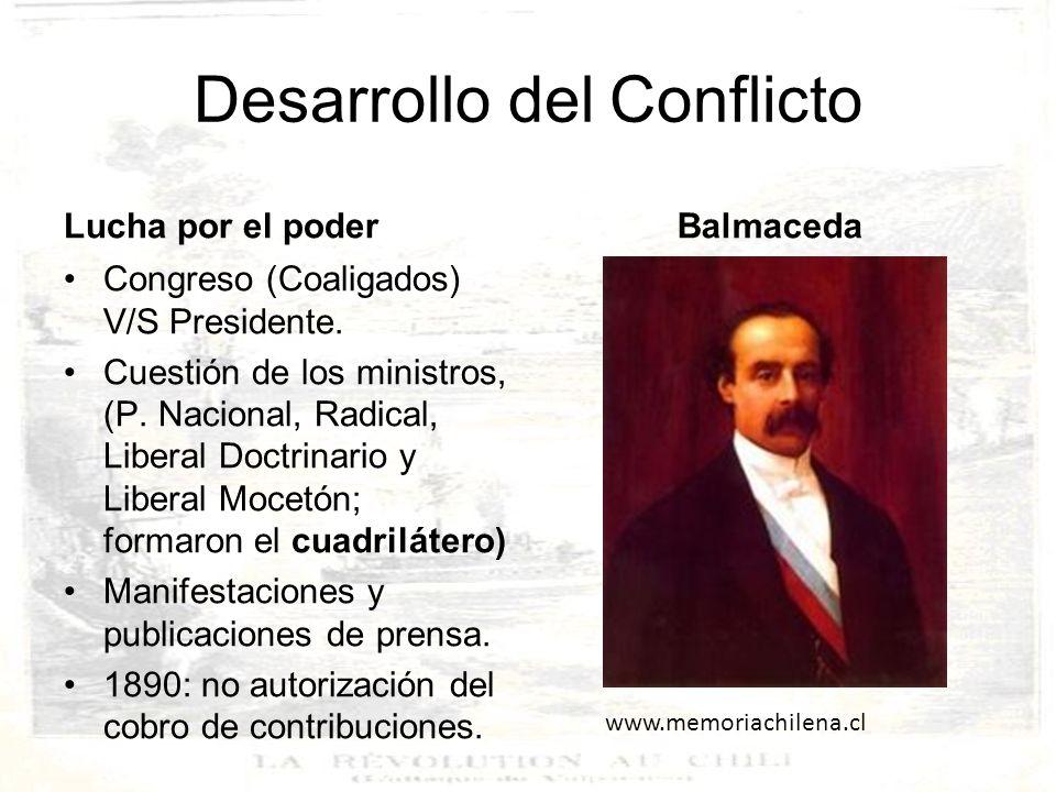 Desarrollo del Conflicto