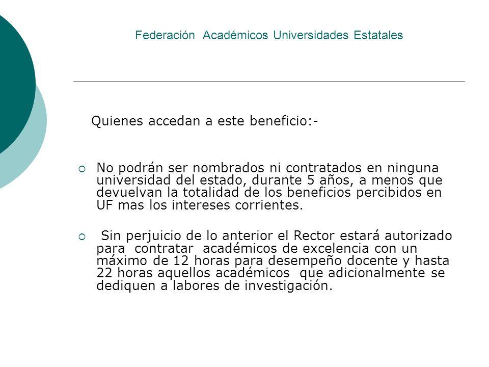Federación Académicos Universidades Estatales