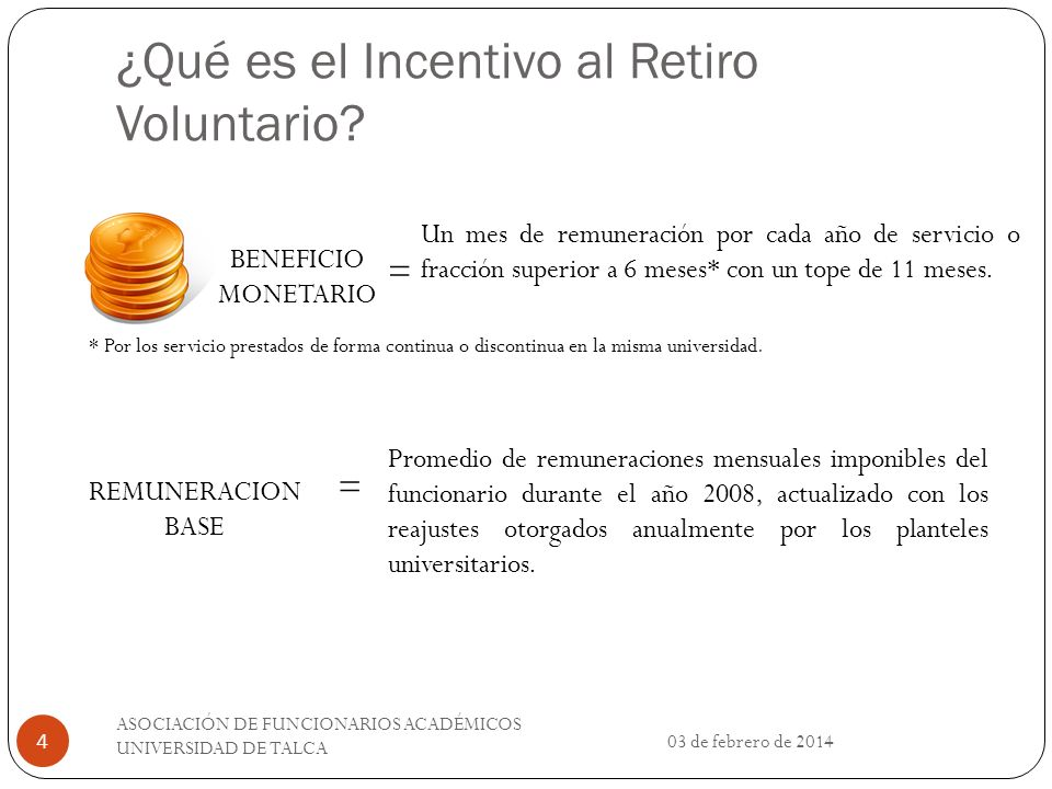 ¿Qué es el Incentivo al Retiro Voluntario