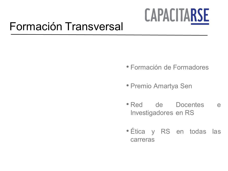 Formación Transversal